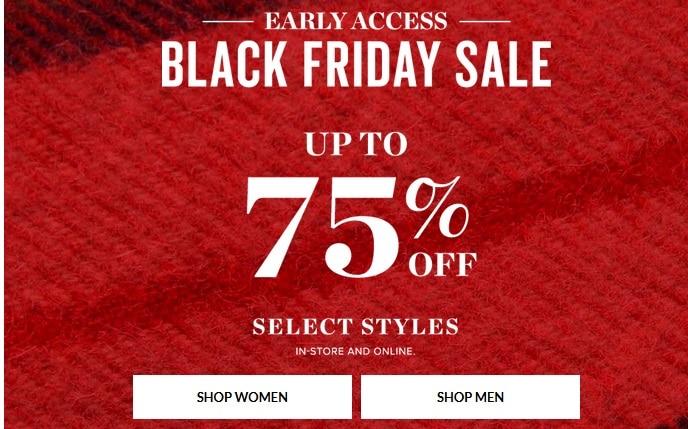 Buckle black friday deals