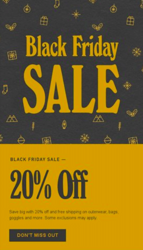 Burton Black friday 2019 sale
