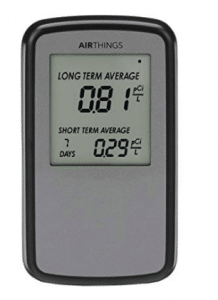 Corentium home radon detector by Airthings 223 Black Friday Deals