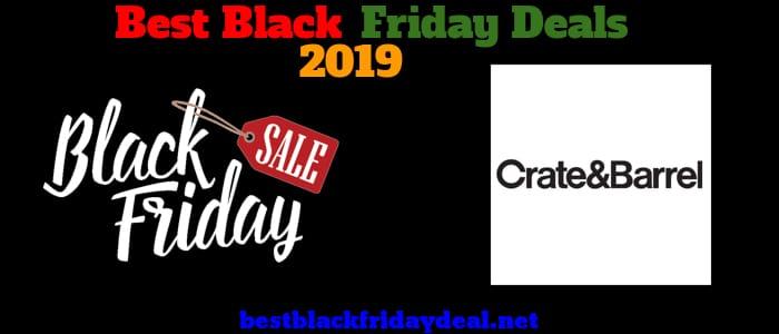 Crate and Barrel Black Friday 2019 Deals