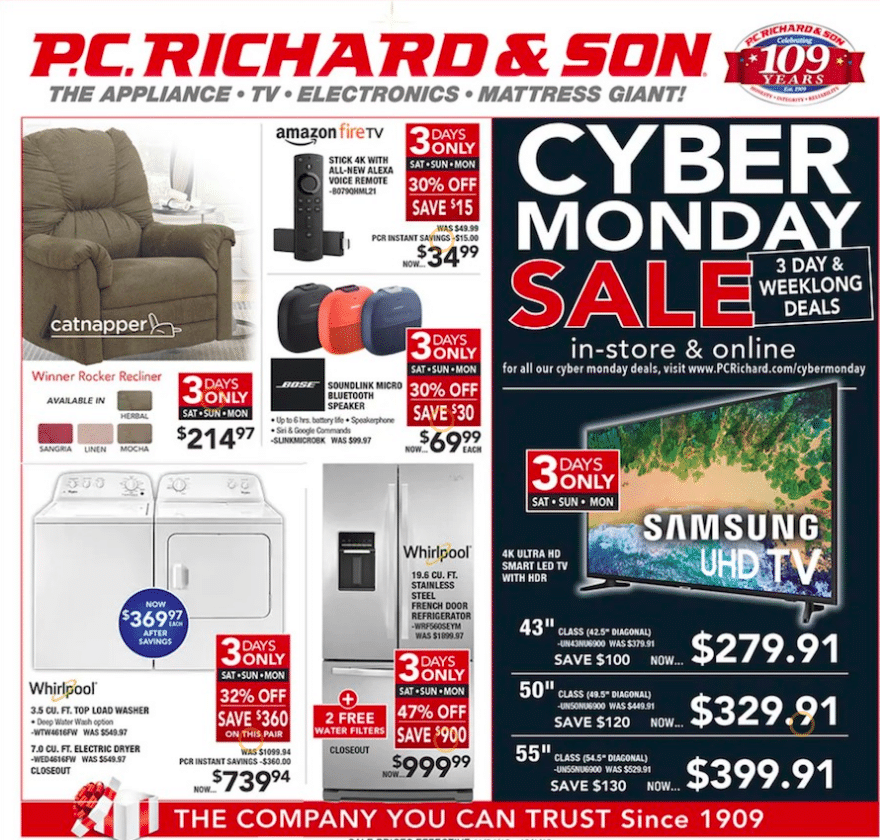 Cyber Monday Black Friday sale