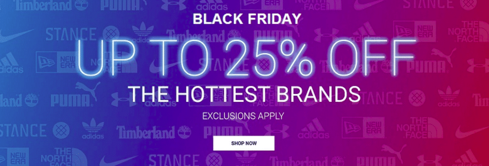 Eastbay Black Friday 2019 sale