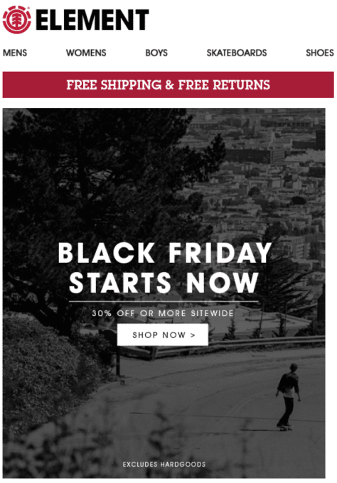 Element Black Friday Deals 2019