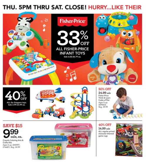 Fisher-Price Black Friday Deals