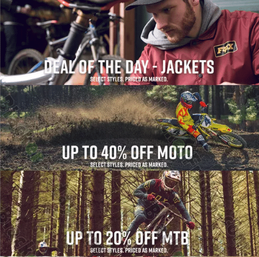 Fox Racing Black Friday Sale 2019