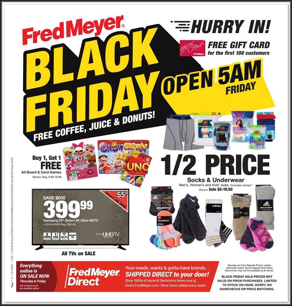 Fred Meyer Black Friday Ad