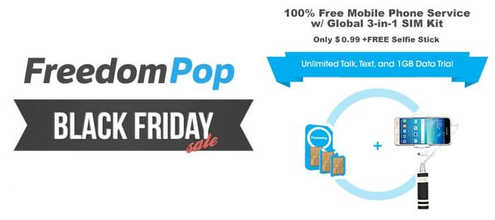 FreedomPop Black Friday Deals