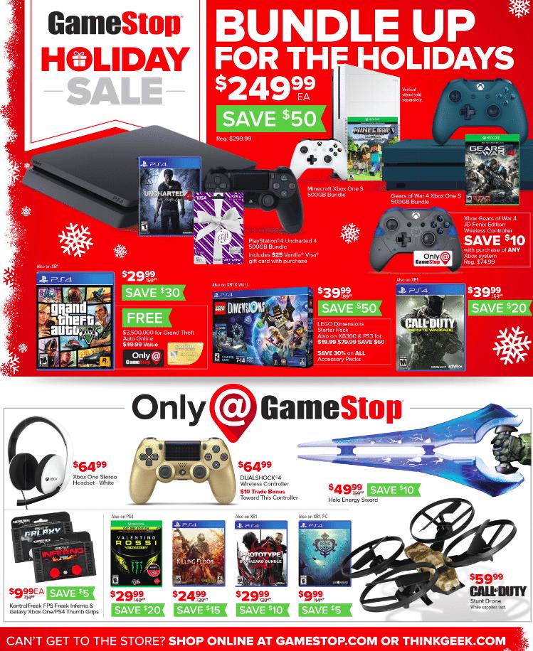 Gamestop After christmas sale 2019