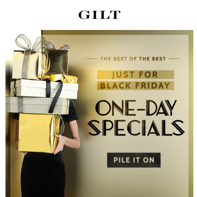 Gilt Black Friday Deals