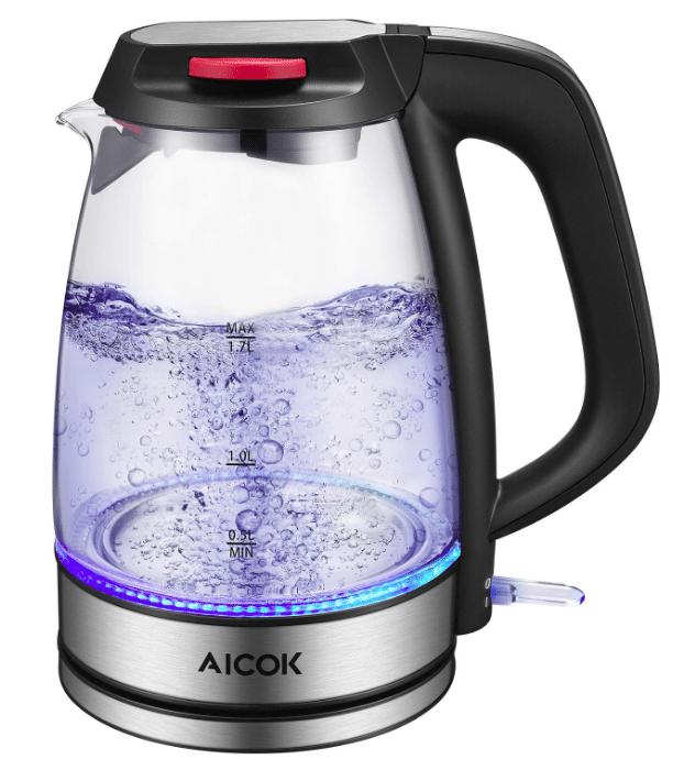 Glass Tea Kettle AICOK Electric Kettle