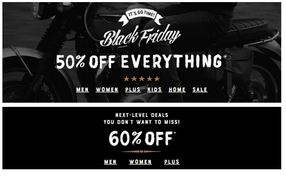 Lucky Brand Black Friday Ad Scan