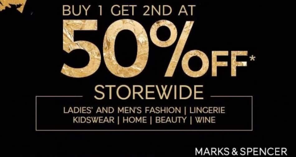 Marks & Spencer Black Friday Deals