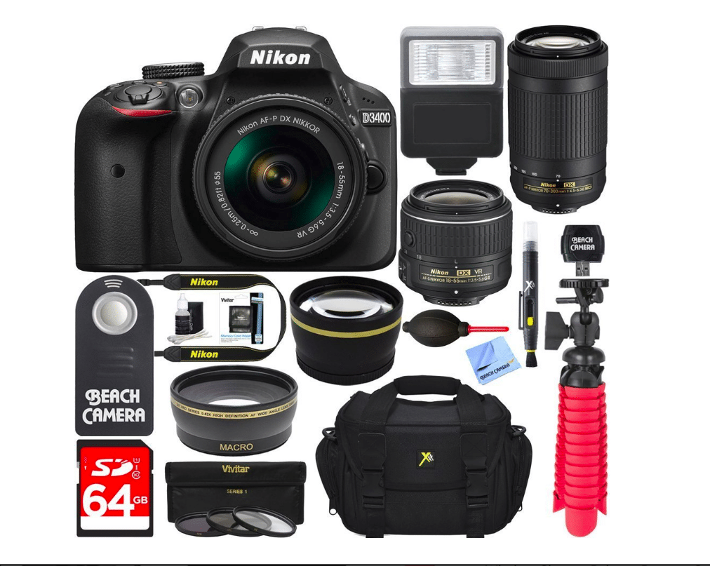 Nikon D3400 Bundle Black Friday sale 2019