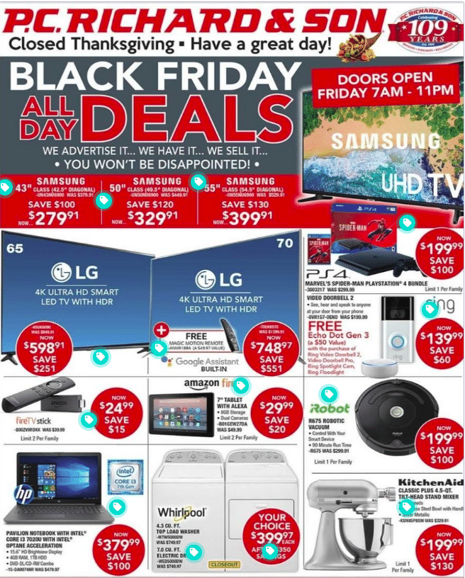 PC Richard and Son Black friday Offer 2019