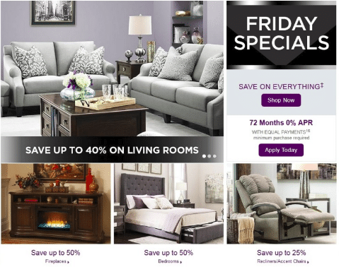 Raymour & Flanigan Black Friday Deals