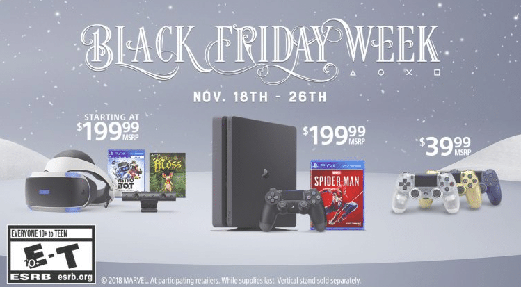 Sony store Black Friday Deals
