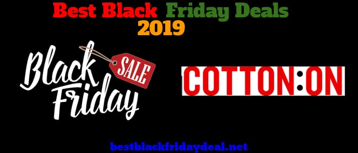 Cotton On Black Friday deals 2019