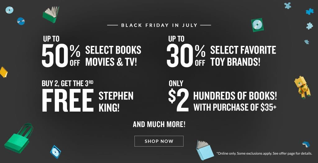 Barnes & Noble Black Friday in July 2019 Ad Scan
