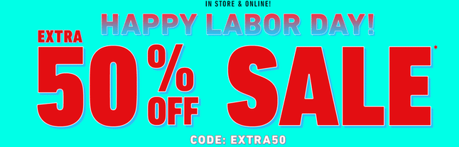 Forever 21 Labor Day Ad
