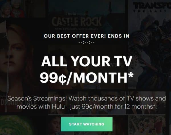 Hulu Black Friday deals