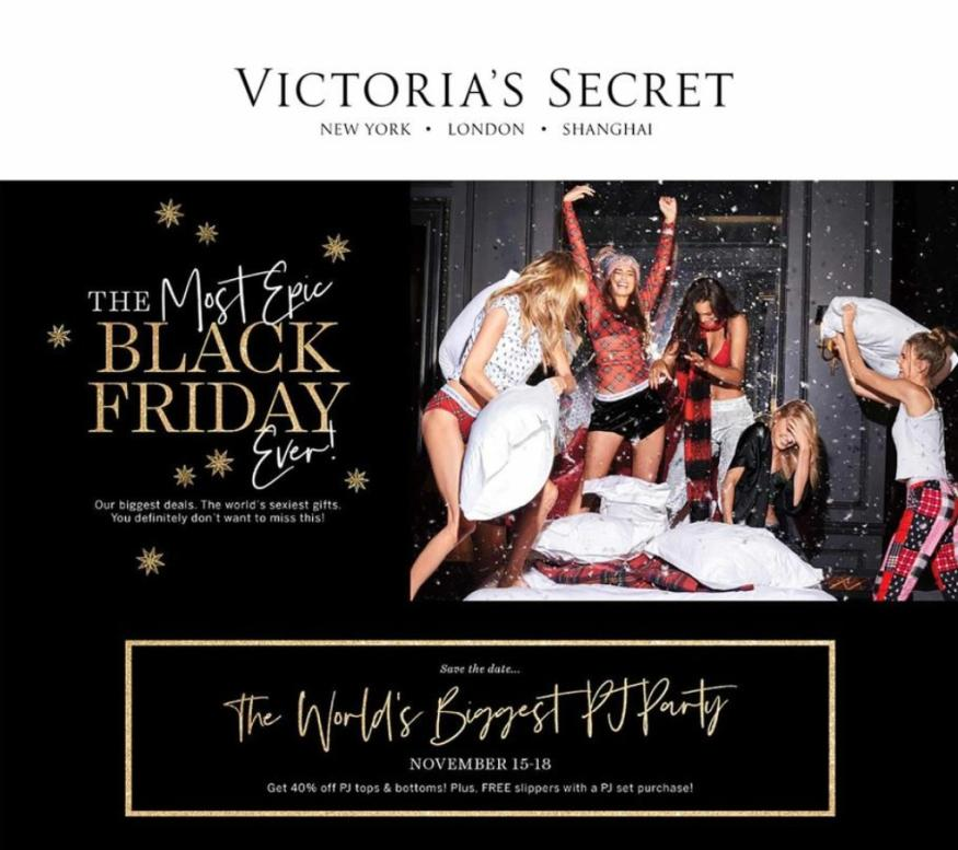 Victoria Secret Black Friday Ad Scan