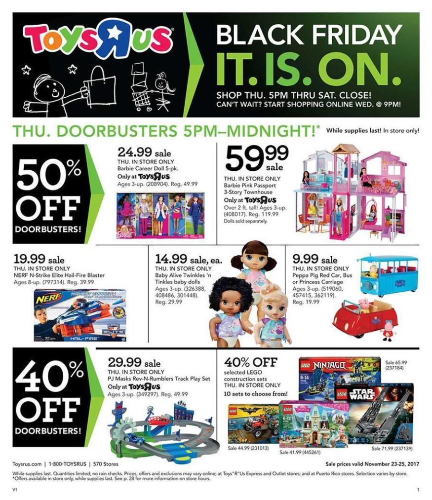 Toys R Us Black Friday 2019 Deals