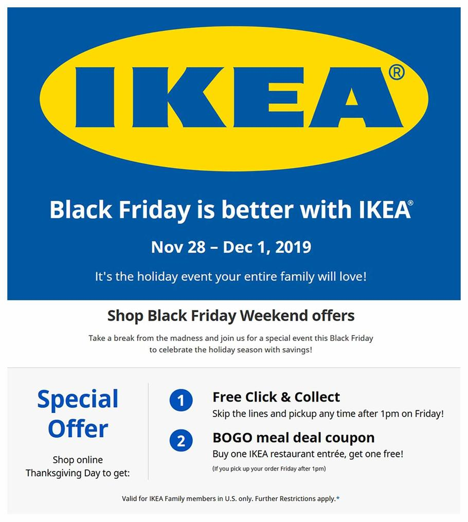 Ikea Black Friday 2019 Ad Scan 1