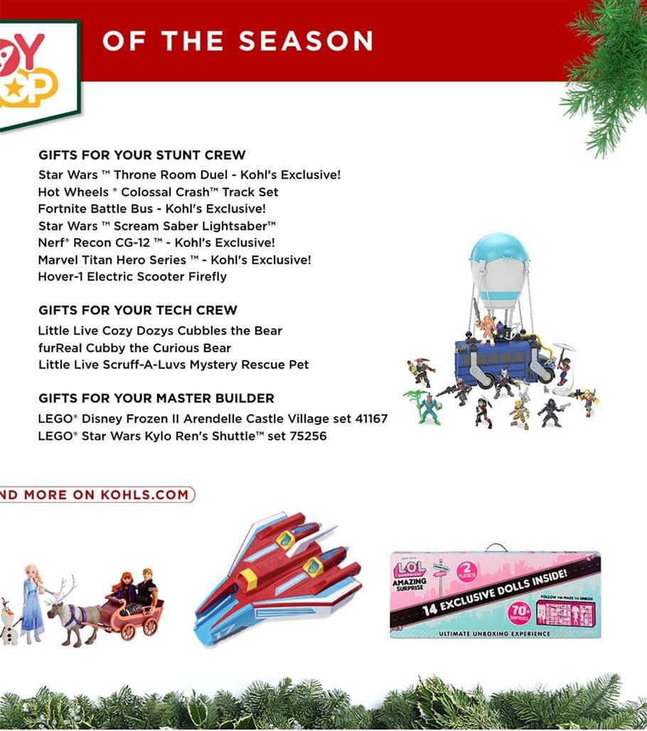Kohls Toys Catalog Page 2