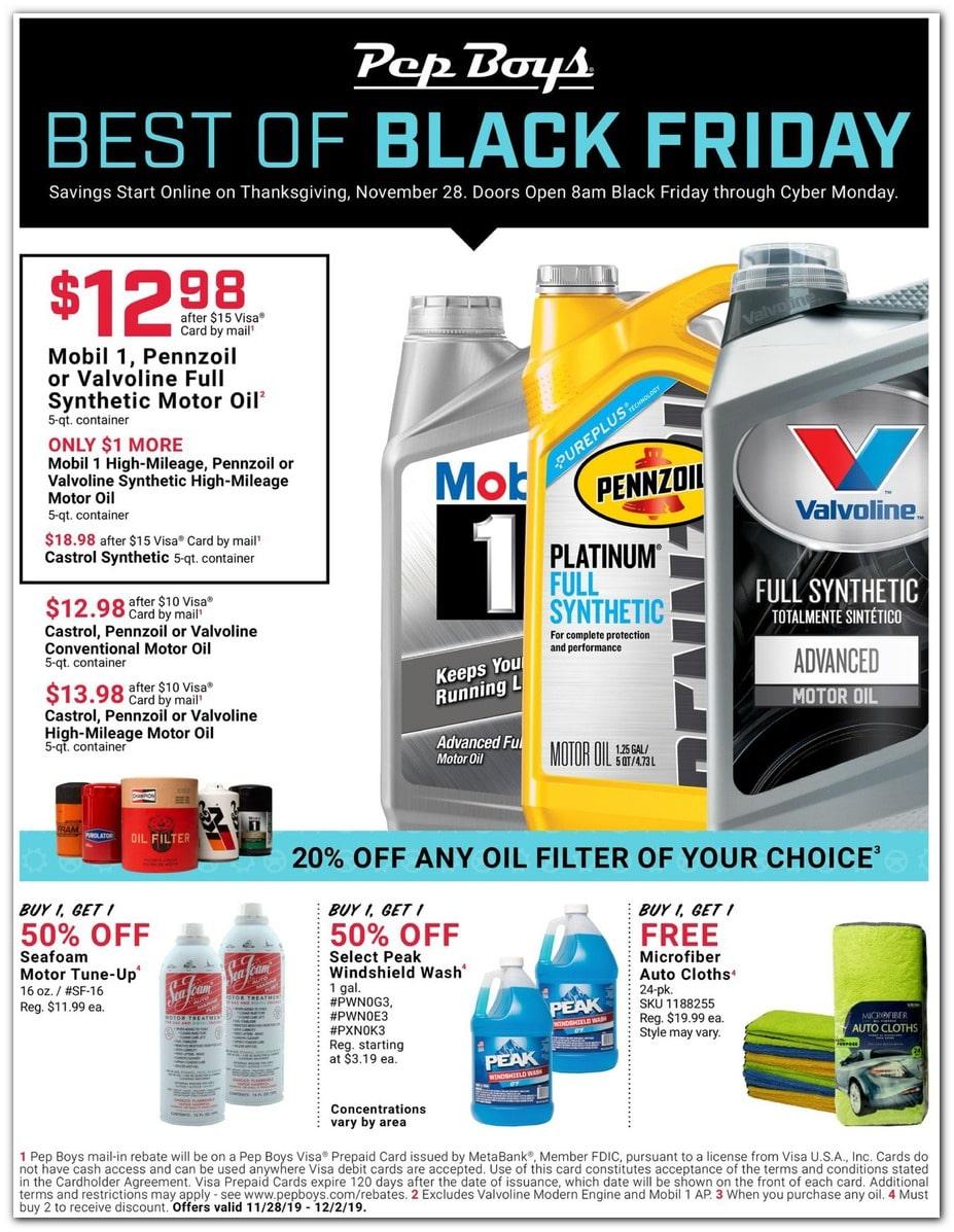 PepBoys Black Friday Ad 1