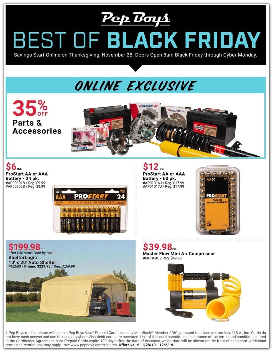 PepBoys Black Friday Ad 3