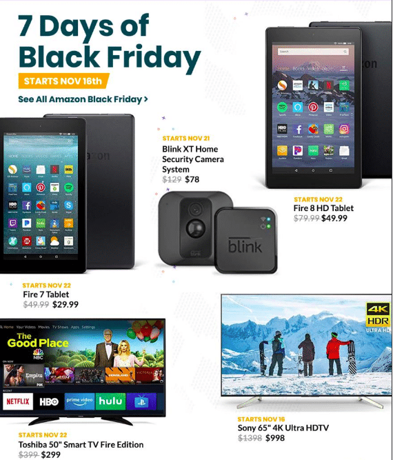 amazon black friday ad scan & coupons