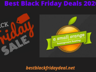 A Small Orange Black Friday 2020