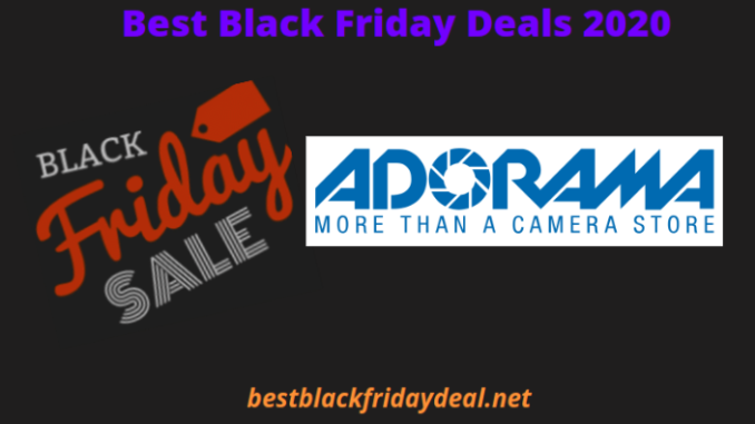 Adorama Black Friday Deals 2020