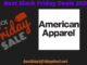 American Apparel Black friday 2020