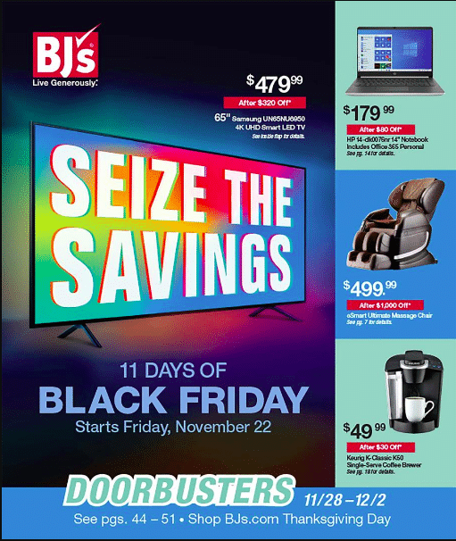 2019 BJ's Black Friday Ad Scan - image 1