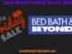Bed Bath & Beyond Black Friday 2020