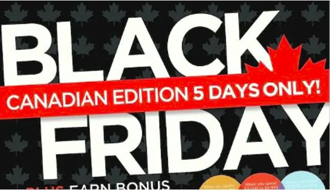 Black Friday in Canda
