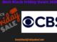 CBS Black Friday 2020