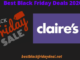Claire's black Friday 2020