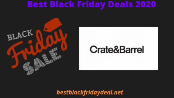 Crate and Barrel Black Friday 2020