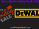 Dewalt black Friday 2020