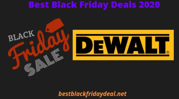 Dewalt black Friday 2020