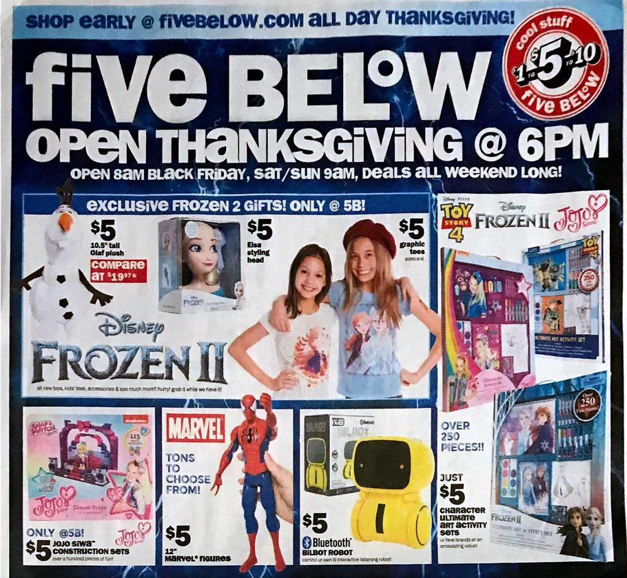 Five Below Ad Scan 1