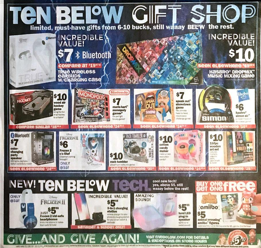 Five Below Ad Scan 2