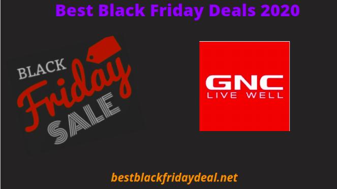 GNC Black Friday Sale 2020
