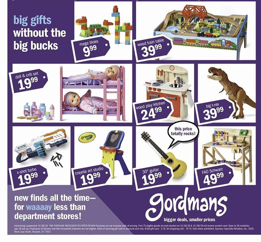 Gordmans Black Friday 2019 Ads