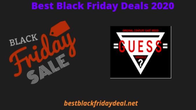 Guess Black Friday Deals 2020