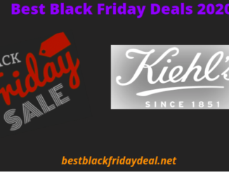 Kiehl's Black Friday Deals 2020