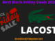Lacoste Black Friday Deals 2020