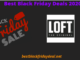 Loft Black Friday Deals 2020